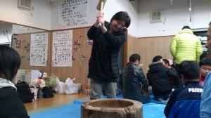 OB会&餅つき 076